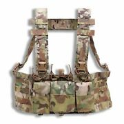 New Velocity Systems Mayflower 5.56 Hybrid Chest Rig Swiftclip Usa Made
