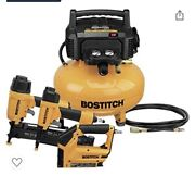 Bostitch Btfp2kit 4 Piece Nailer And Compressor Combo Kit