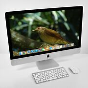Apple Imac 27 5k 2019 3.7 Ghz 6 Core I5 2tb Fusion Up To 128gb Ram +accessories