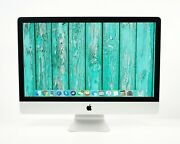 Clean 2019 27 5k Apple Imac 3.7ghz - 4.6ghz 6-core I5 + 2tb Ssd And Up To 128gb