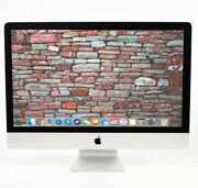 2019 27 5k Apple Imac 3.7ghz - 4.6ghz 6-core I5 + 1tb Ssd And Up To 128gb Ram