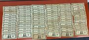 Lot Of 86 1935 And 1957 Circulated One Dollar Silver Certificate Notes 1