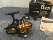 Penn 850ss Saltwater Spinning Reel Made In Usa 4.61 Gear New