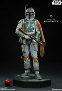Sideshow Collectibles Star Wars Boba Fett Legendary Scale Statue Figure