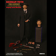 Redmam Toys Rm054 1/6 The Cowboy Tombstone Deputy Town Marshal Figure Model Gift