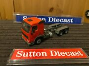 Corgi Modern Joal Plain Red Volvo Fh 6x4 Rigid Chassis Tractor Unit Only 1/50
