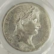 Extremely Rare Hero Napoleon Silver Coin 1811 France Francs Pcgs