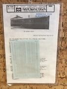 """Microscale Decals N Scale 60-126 Southern Pacific """"city"""" Passenger Cars Postwar"""