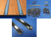 Bed Strips Kit Chevy 1960 - 1966 Stainless Steel Short Stepside Truck Wood