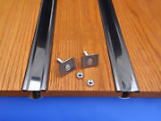 Bed Strips Chevy 1960 - 1966 Stainless Steel Hidden Fasteners Short Step Truck