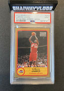 2003 Bazooka Gold Lebron James Rc Rookie 223 Psa 9 Road Red Jersey Pop 25 Topps