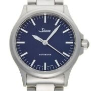 Sinn 556 I B Automatic Stainless Steel Bracelet Blue Dial Menand039s Watch From Jp