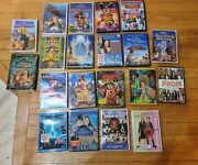 Disney And Pixar Lot Of 27 Classic Movies Pre-owned But Minty