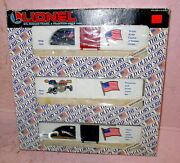 Lionel 6-19599 The Old Glory Set Three Boxcars 19516-9517-19518 New In Box