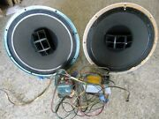 Altec Lansing 604e Coax Speakers 2 With Crossover Circuits