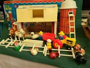 Vintage 1980's Fisher Price Play Family Little People Farm