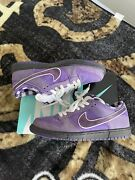 Size 10.5 - Nike Sb Dunk Low Concepts Purple Lobster 2018 With Box, Laces, Bands