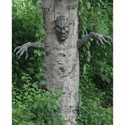Spooky Living Tree Face And Arms Halloween Decoration