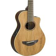 Yamaha Apx Thinline 3/4 Size Acoustic-electic Guitar Natural
