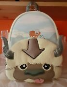 Loungefly Avatar The Last Airbender Aang And Appa Cosplay Bag Mini Backpack Nwt