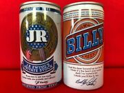 Starter Pack For Beer Can Collection J.r. Ewing Private Stock And Billy Beer Cans