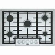Bosch 800 Series 30 Star-k 5 Led Sealed Burner Stainless Gas Cooktop Ngm8056uc
