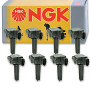 8 Pcs Ngk 48690 Ignition Coil For U5244 Ic606 178-8440 Uf526 8415194 E1026 Aa
