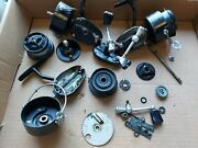 Vintage Mitchell Garcia 301 Open Face, Spinning Fishing Reel, Plus Parts Reels