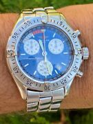 Breitling Transocean Chronograph Menandrsquos Watch In Amazing Condition