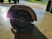 Homelite Xl-120 Circle Saw Used For Parts Not Working Vintage Chainsaw