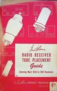 Vintage 1947 Howard Sams Radio Receiver Tube Replacement Guide 1st Ed 1938-47
