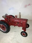 Rare Farmall M Wide Front Tractor 1/16 Mint Ih International Factory Dusty