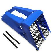 For 1987-2006 Yamaha Banshee 350 Radiator Cover Grill Gas Tank Side Covers Blue