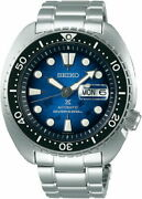 Seiko Prospex Turtle Save The Ocean Sbdy063 Watch Men's Day Date Divers 200m