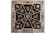 42 Marble Center Dining Table Top Pietra Dura Inlay Work Garden Decorate B562a