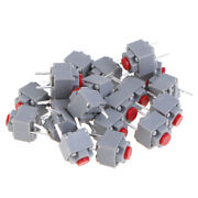 20pcs Mute Button 667.3 Silent Switch Wireless Wired Mouse Button Microexqa