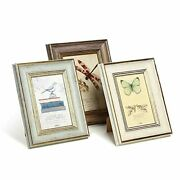 3 Pack 5x7 Inch Farmhouse Rustic Picture Frame Sets Distressed Farmhouse Plas...