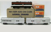 Lionel Lcca New Haven Non-powered B-unit/pass. Add-on Set 6-52447 New F80