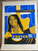 Ruthie Foster Acl Austin City Limits 2020 Screen Print Poster Signed S/n /150
