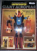Vintage Mego Micronauts Giant Acroyear   Not Complete In Box - Parts Lot