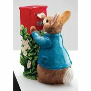 Beatrix Potter Peter Rabbit Posting A Letter Money Box Bank - Boxed Collectable
