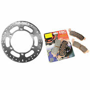 Ebc Disc And Hh Sintered Pad Brake Kit Suitable For Honda Nt700v Deauville 2013