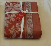 Williams Sonoma Tablecloth Holly Jacquard 70 X 144 Christmas Msrp 280
