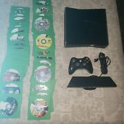 Microsoft Xbox 360 250gb Game Console W/ 90 Games And Kinect Sensor