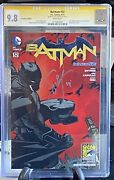 Batman 32 New 52 Sdcc Exclusive 9.8 Cgc Signed By Scott Snyder