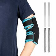 Tennis Elbow Brace Arm Splint - Night Elbow Sleep Support With 4 Removable
