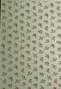Daisy Kingdom Voile Fabric 1356violets Allover45 X5 Yardwhite Background