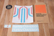 Decals For 1975 Amf Harley-davidson X-90 Shortster Aermacchi Gas Tank