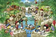 1000 Piece Jigsaw Puzzle Peanuts Snoopy Forest Expedition 50x75cm