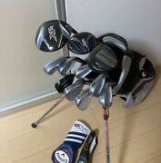 Super Luxury Golf Set Callaway Speeder Ping Cleveland Titleist From Japan Used